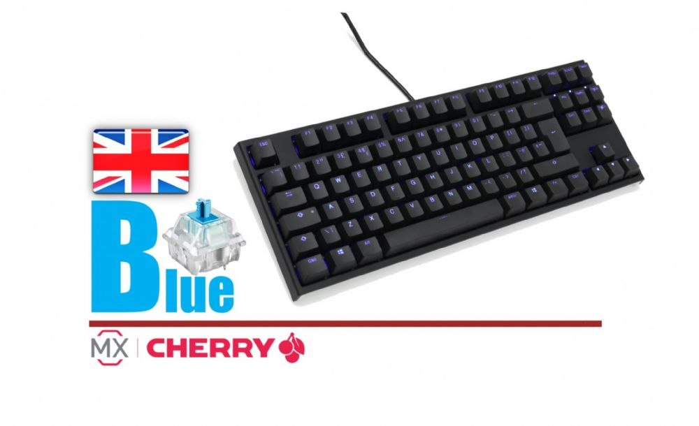 Ducky Channel One2 Blue Backlit TKL DKON1887S-CUKPDAZB1